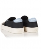 Superdry Dion Slip On Sneaker Schwarz