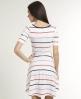 Superdry Swingout Stripe Dress White