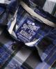 Superdry Lumberjack Twill Shirt Blue