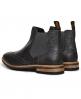 Superdry Brad Brogue Pemium Chelsea Boots Schwarz