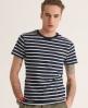 Superdry Striped Pocket T-shirt Navy