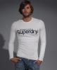 Superdry Full Sleeve Sport Tee Lt/grey