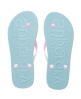 Superdry Two Colour Flip Flop Blue