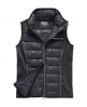 Superdry Gym Quilted Gilet Black