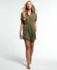 Superdry Super Playsuit Green