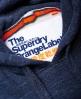 Superdry Orange Label hættetrøje Navy
