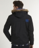 Superdry Polar Fur Windcheater Black