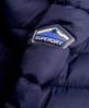 Superdry Chaqueta Chevron Fur Super Fuji  Marino