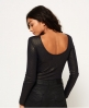 Superdry Elsden Rib Bodysuit Black
