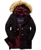 Superdry Everest Duffle Coat Black
