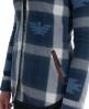 Superdry Sioux Fur Shirt Blue