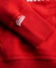 Superdry Trackster Hoodie Red
