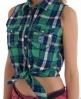 Superdry Twill Trailer Tie Shirt Green