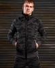 Superdry Gym Tech hættetrøje med lynlås Mørkegrå