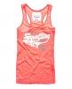 Superdry Triple Swoosh Vest Top Orange