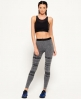 Superdry Superdry Gym Seamless Leggings Grau