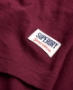 Superdry Football Slub Shirt Rot