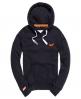 Superdry Orange Label Hoodie  Navy