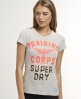 Superdry Training Camo T-shirt Light Grey