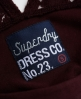 Superdry Sweetheart Bodycon Dress Red