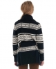Superdry oslo knit cardigan Navy