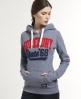 Superdry Core Applique Hoodie Navy