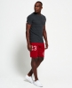Superdry Trackster Lite Sweat Shorts Red