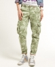 Superdry Skinny Cargo Pants Green