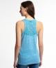 Superdry Super Sewn Lace Top Blau
