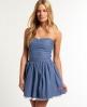 Superdry 50's Colour Kleid Blau