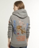 Superdry Tiger Queens Zip Hoodie Grey