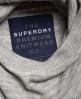 Superdry Fieldhouse Hoodie Grey