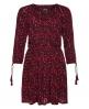 Superdry Topeka Kleid mit Carré-Ausschnitt Rot
