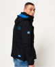 Superdry極度乾燥 Pop Zip Arctic 連帽防風夾克 黑色