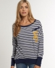Superdry Jetty Top Blue