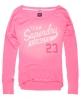Superdry Fluro Burnout T-shirt Pink
