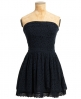 Superdry 50s Dovecote Dress Navy