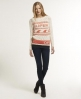 Superdry Wave Rider Knit Cream