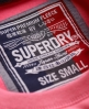 Superdry Tall SD Applique Crew Pink