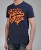 Superdry Super Sonics T-shirt Blue