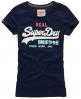 Superdry Vintage Logo T-shirt Navy