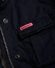 Superdry Cazadora militar Winter Rookie Marino