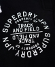 Superdry Track & Field Joggers Black