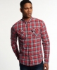 Superdry Grindlesawn Shirt Red