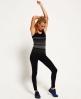 Superdry Gym Seamless Vest Top Black