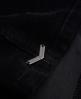 Superdry Jupe Corduroy Button Through Noir