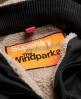 Superdry Hooded Super Wind Parka Coat Dark Grey