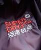 Superdry Tri Colour Zip Through Spray Windcheater-Jacke Lila