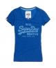 Superdry Vintage Logo Vee T-shirt Blue