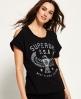 Superdry Eagle T-Shirt Schwarz